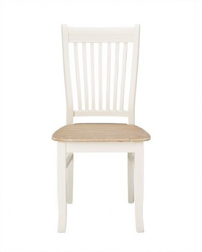 Marseilles White Dining Chairs (Pair)